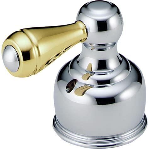 Delta Traditional Lever Handle In Chrome And Polished