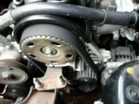 replace  timing belt  water pump part