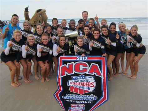 uco press release uco cheerleading squads win national title