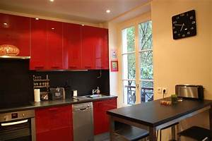 decoration cuisine d39appartement exemples d39amenagements With les decoration de cuisine