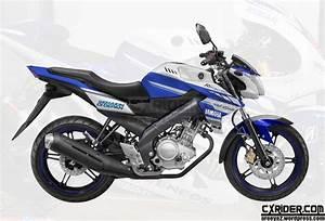 Konsep New Vixion Livery Yamaha Factory Moto Gp 2014