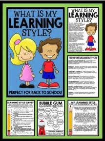 Learning Styles Worksheet