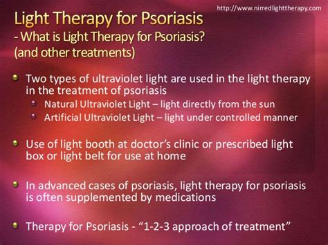 light therapy for psoriasis light therapy for psoriasis nirredlighttherapy