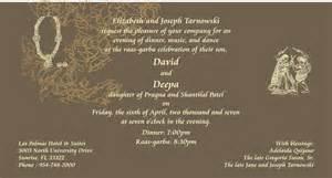 sikh wedding cards wording ras garba printed sles