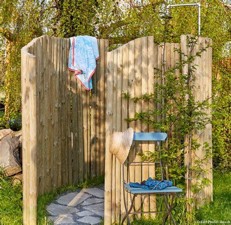 Créer une douche d'extérieur - Détente Jardin