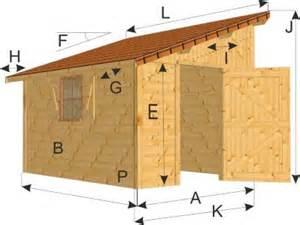 Construire Abris De Jardin 1 Pente by Chalet Abri De Jardin Une Pente Mod 232 Le Digne