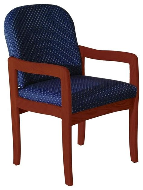 upholstered arm chair w wood frame contemporary