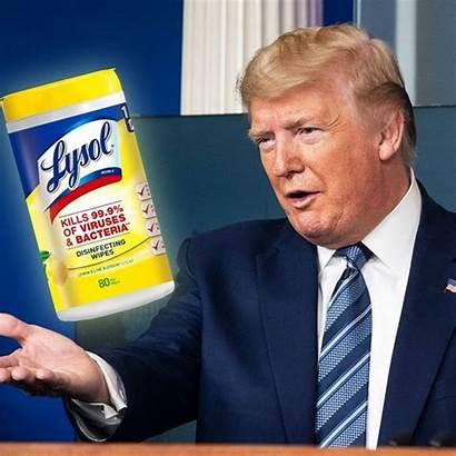 Trump Lysol Disinfectant Inject Donald Coronavirus Suggestion