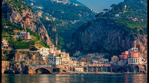 Most Beautiful Amalfi Coast Towns Youtube
