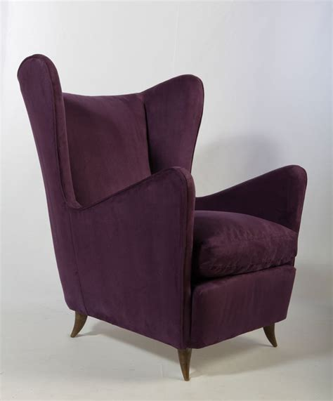 wingback chairs sculptural paolo buffa bergere wingback chairs mid