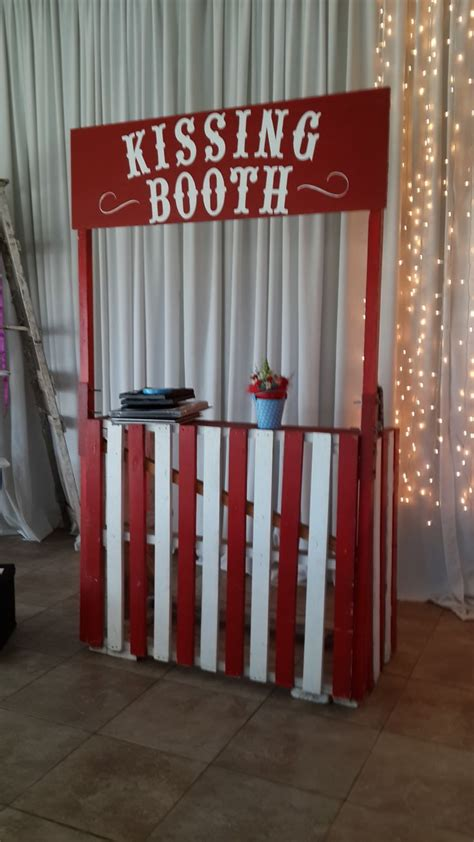 vintage carnival  kissing booth   vintage
