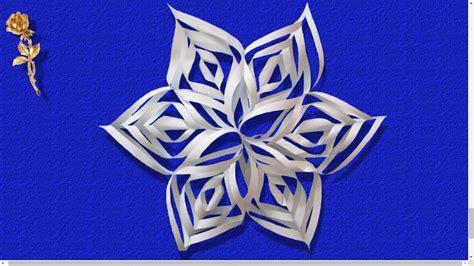 flocon de neige en papier flocon de neige en papier