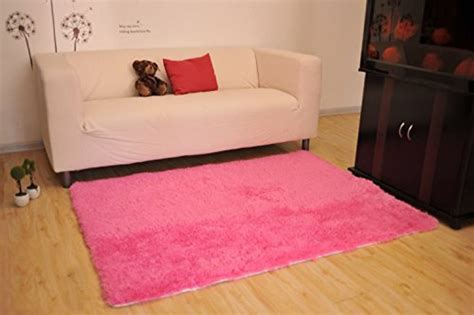 pink bedroom rug living room rug cwktiti super soft indoor modern shag 12847 | 41RurNAzN7L