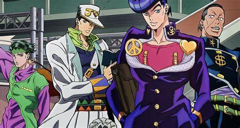 anime characters fight jojo jojo s adventure is unbreakable anime amino