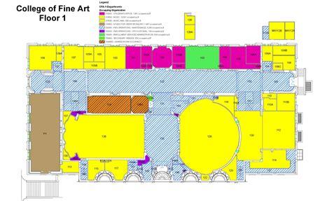 floorplans  maps campus design  facility