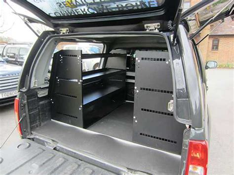 toyota hilux mk9 pick up storage shelving system double