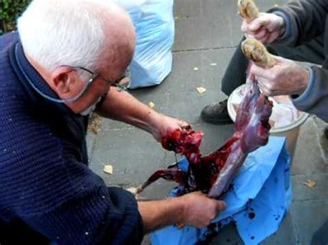 comment cuisiner un lievre mon père decoupe un lièvre
