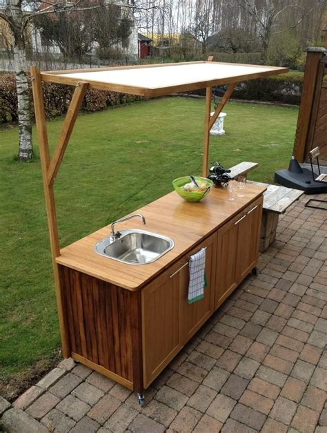 sink for outdoor kitchen best outdoor kitchen sink drain idea bistrodre porch and 5279
