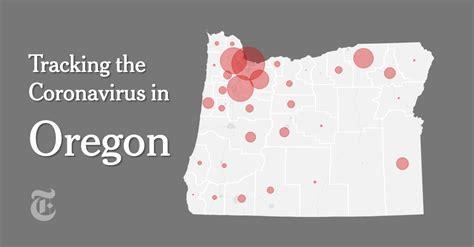 oregon coronavirus map  case count   york times