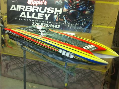 airbrushed boat hulls rcu forums