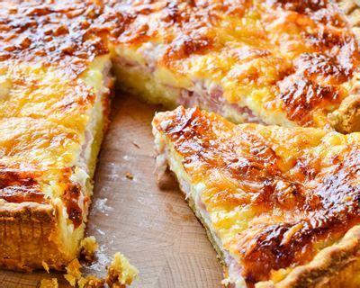 cuisine de a à z recettes recette quiche lorraine simplissime facile rapide