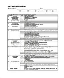 Fall Risk Assessment Form