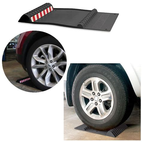 Garage Floor Tire Stops by Auto Parking Mat Guide Garage Floor Park Car Vehicle Tire