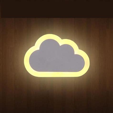 children room cloud novelty lighting wall light for room modern led acryl indoor wall l