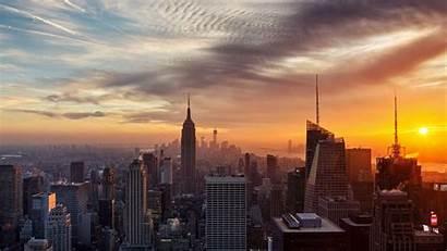York Wallpapers Sunset Desktop Fond