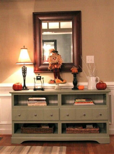 foyer stand     purposed dresser diy
