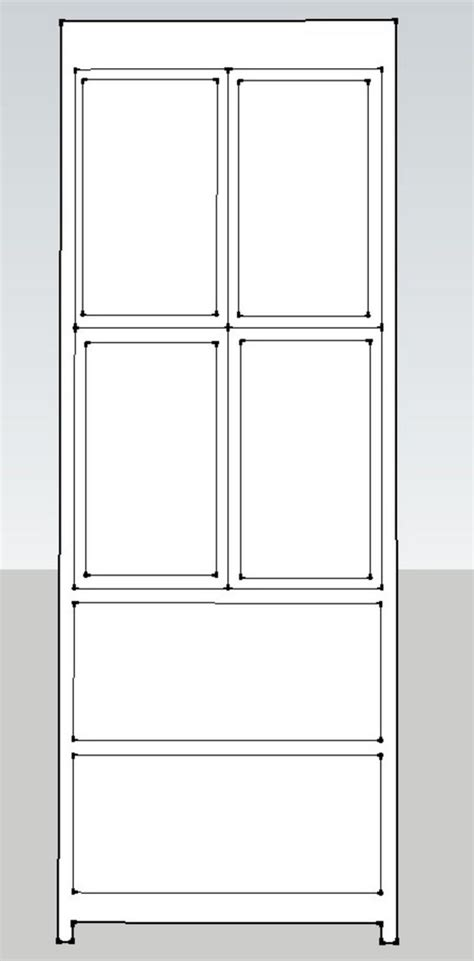 pleasing dimensions for a linen closet