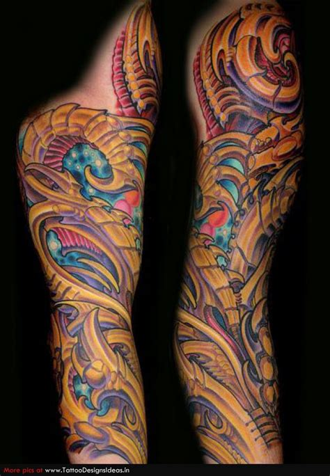 Tattoo Sleeve Biomechanical
