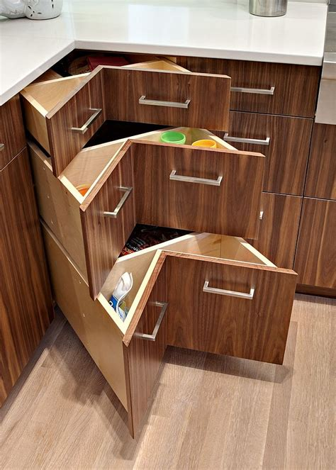 Ideas For Kitchen Pantry - 30 corner drawers and storage solutions for the modern kitchen