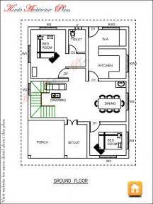 3 bedroom house plan three bedroom house plan architecture kerala