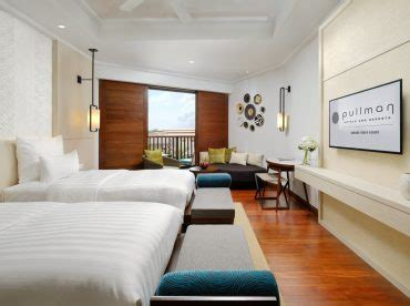 pullman danang beach resort rooms suites  star hotel