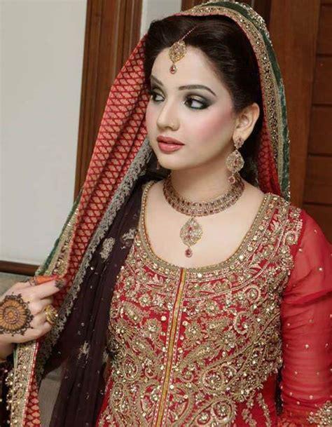 Latest Pakistani bridal wedding hairstyles 2017