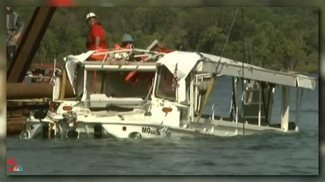 table rock lake tragedy duck boat recovered