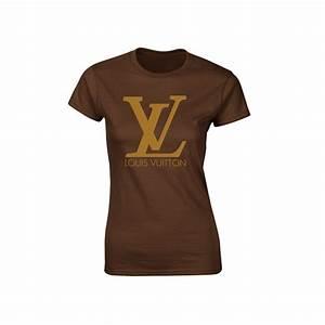 T Shirt Louis Vuitton Homme : louis vuitton inspired graphic brown or white with glitter ~ Melissatoandfro.com Idées de Décoration