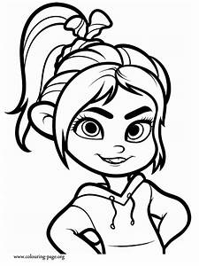 Of Schweetz, Ralph Vanellope, Coloring Pages, Drawing ...