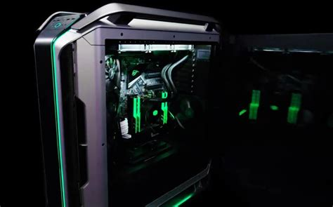 cooler master offers  glimpse    cosmos cooler