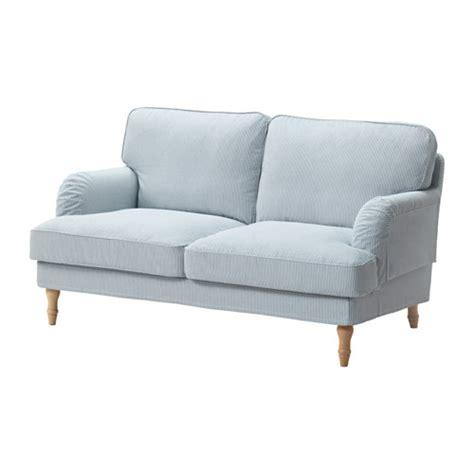 ikea sofa knislinge 2er stocksund 2er sofa remvallen blau wei 223 hellbraun ikea