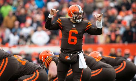 baker mayfield fined  gesture   bengals game