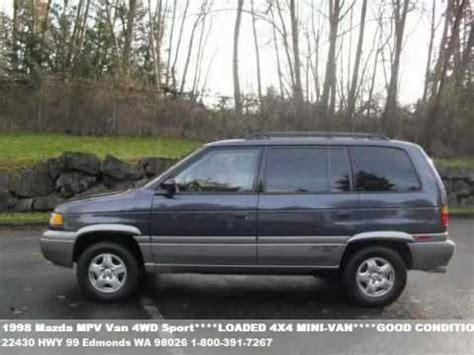 1998 Mazda MPV Van 4WD Sport***RUNS & DRIVES SUPER ...