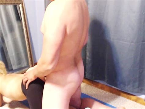 Cum Filled Blonde In Yoga Pants Free Porn Videos Youporn