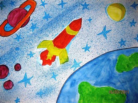 Рисунок космоса для 6 класса