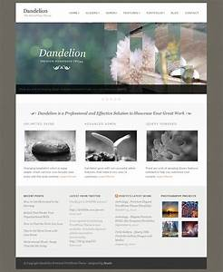 dandelion powerful elegant wordpress theme by pexeto With what wordpress template is this