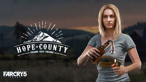 wallpaper  cry  hope county poster  divine