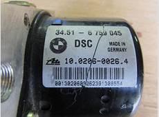 BMW Hydro Unit DSC ABS Brake Pump w Module 34516765453