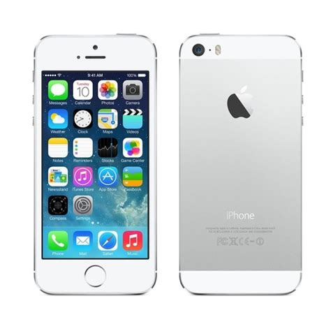 apple iphone 5s 16gb white techno trading house