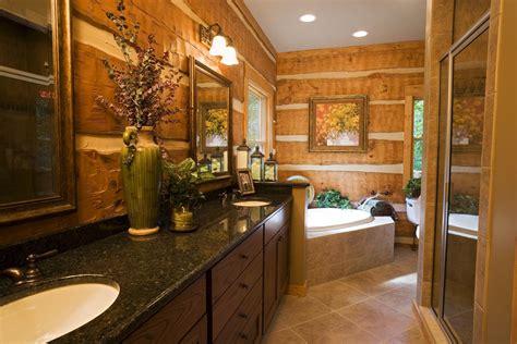 log home bathroom ideas log home bathrooms